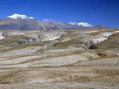 Altiplano Desert Plateau, Near Arequipa, Peru, South America-Tony Waltham-Photographic Print