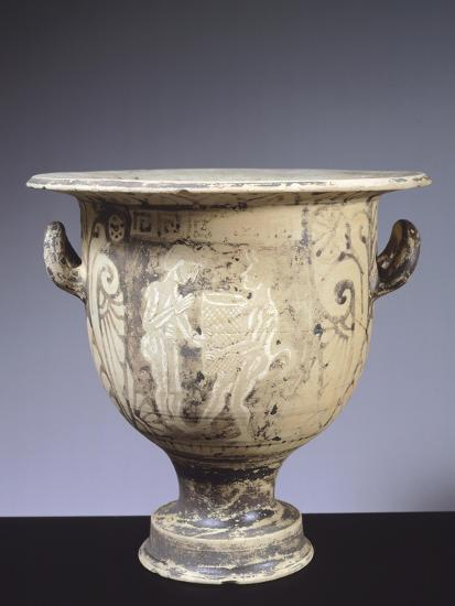 Alto Adriatico Bell Krater Depicting Satyrs and Harvesters, Italy--Giclee Print