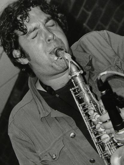Alto Saxophonist Christian Brewer Playing at the Fairway, Welwyn Garden City, Hertfordshire, 2003-Denis Williams-Photographic Print
