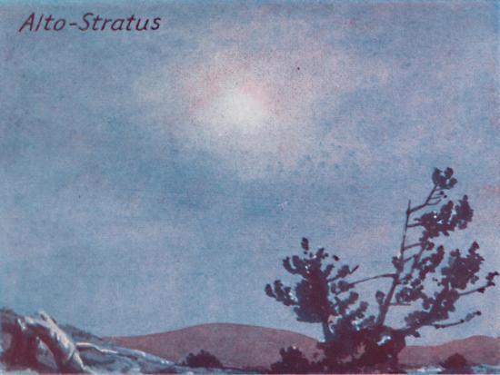 'Alto-Stratus - A Dozen of the Principal Cloud Forms In The Sky', 1935-Unknown-Giclee Print