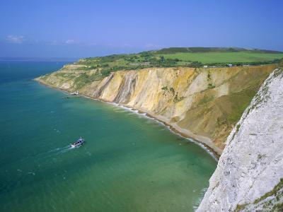 Alum Bay, Isle of Wight, England-Roy Rainford-Photographic Print