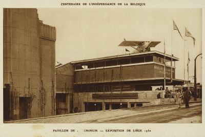 Aluminium Pavilion, International Exposition, Liege, Belgium, 1830--Photographic Print