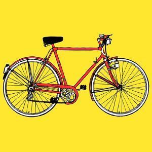 Old Classic Bike Illustration by alvaroc