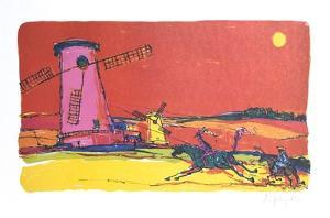 Don Quixote 1 by Alvin Carl Hollingsworth
