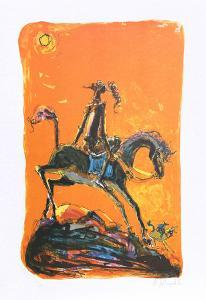 Don Quixote 2 by Alvin Carl Hollingsworth