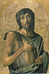 Saint John the Baptist by Alvise Vivarini