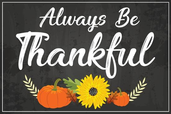 Always Be Thankful-ND Art-Art Print
