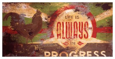 Always In Progress-Rodney White-Giclee Print
