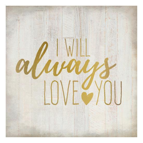 Always Love 1-Kimberly Allen-Art Print