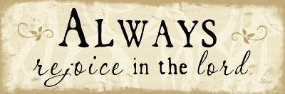 Always Rejoice-Jennifer Pugh-Art Print