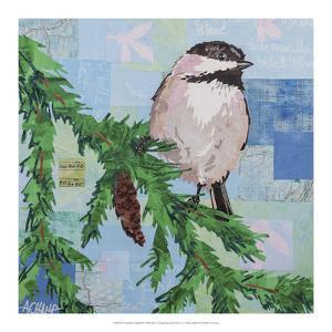Chickadee Collage III by Alyson Champ