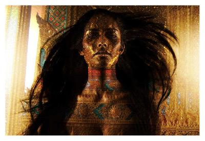 Alyssha Ali-Daniel Stanford-Art Print