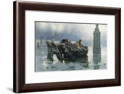 Am I My Brother's Keeper-John Charles Dollman-Framed Giclee Print