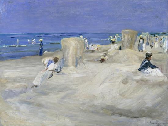 Am Strand Von Nordwijk, 1908-Max Liebermann-Giclee Print