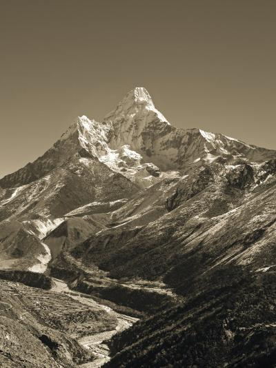 Ama Dablam, Khumbu Valley, Everst Region, Nepal-Jon Arnold-Photographic Print