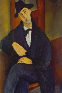 Portrait of a Man (M,Mario), 1919 by Amadeo Modigliani