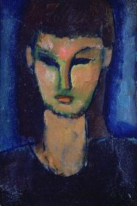 Young Woman, C1910 by Amadeo Modigliani