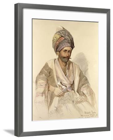 Abdullah - Kurd from Bitlis, 1852