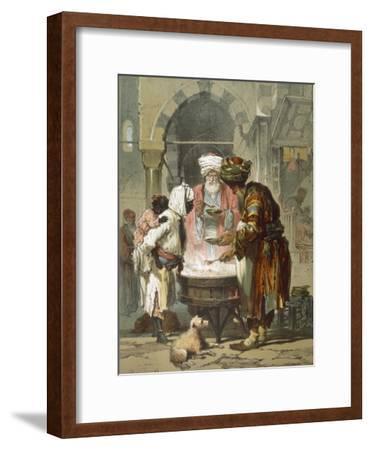 Woman at a Street Fountain (Sebil), from 'stamboul, Souvenir De L'Orient', Published 1865