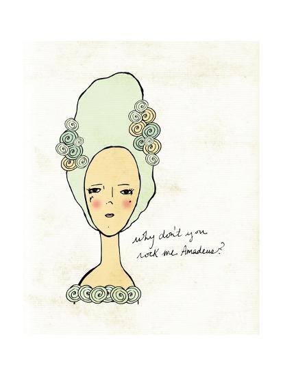 Amadeus-Lisa Barbero-Art Print