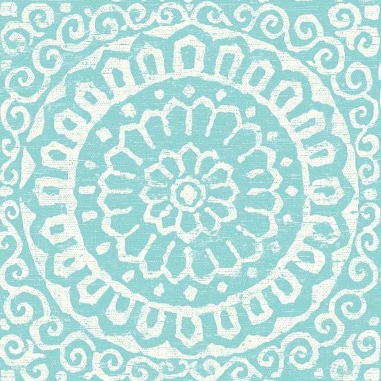 Amadora Blue - Tile VI-Wild Apple Portfolio-Art Print