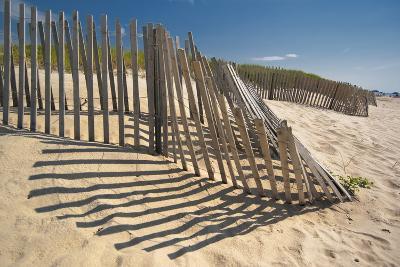 Amagansett Beach Fence-Joseph O^ Holmes / portfolio^streetnine^com-Photographic Print