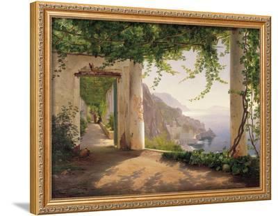 Amalfi Cappuccini-Carl Frederic Aagaard-Framed Giclee Print