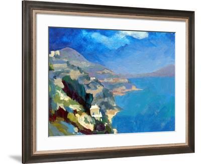 Amalfi Coast, 2007-Clive Metcalfe-Framed Giclee Print