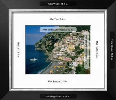 Amalfi Coast Coastal View And Village Positano Campania Italy Photographic Print By Steve Vidler Art Com
