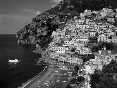 Amalfi Coast, Coastal View and Village, Positano, Campania, Italy-Steve Vidler-Photographic Print
