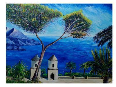 Amalfi Coast Ii-M Bleichner-Art Print