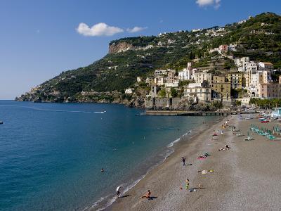Amalfi Coast, UNESCO World Heritage Site, Campania, Italy, Europe-Charles Bowman-Photographic Print
