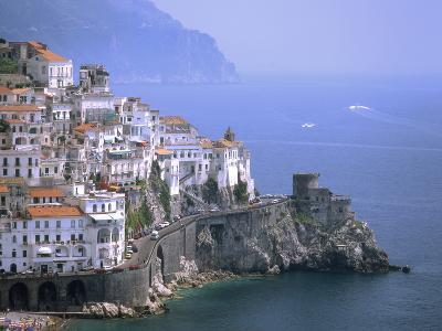 Amalfi Coast, UNESCO World Heritage Site, Campania, Italy, Mediterranean, Europe-Rolf Richardson-Photographic Print