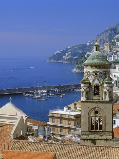 Amalfi, Costiera Amalfitana (Amalfi Coast), Unesco World Heritage Site, Campania, Italy, Europe-G Richardson-Photographic Print