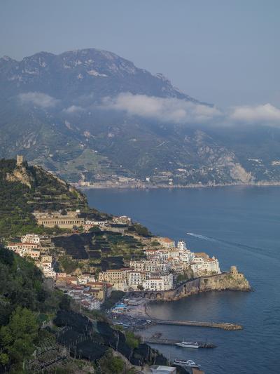 Amalfi Peninsula, Amalfi Coast, UNESCO World Heritage Site, Campania, Italy, Mediterranean, Europe-Angelo Cavalli-Photographic Print