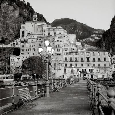 Amalfi Pier #1-Alan Blaustein-Photographic Print