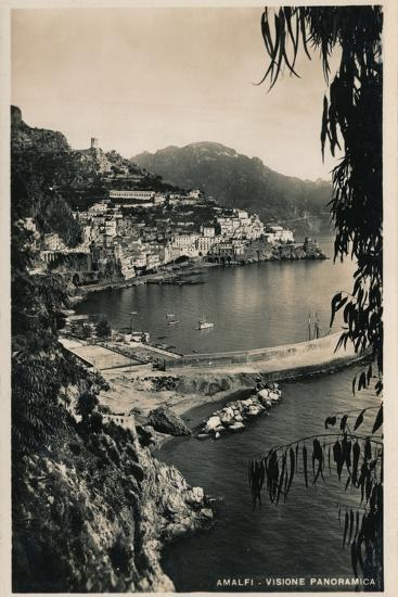 'Amalfi - Visione Panoramica', c1910-Unknown-Photographic Print