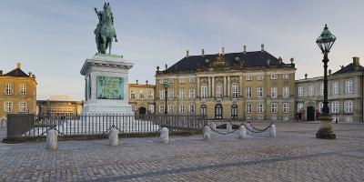 Amalienborg Palace, Copenhagen, Denmark-Rainer Mirau-Photographic Print