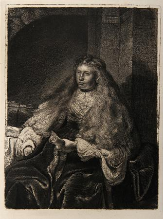 La Femme de Rembrandt (B340)