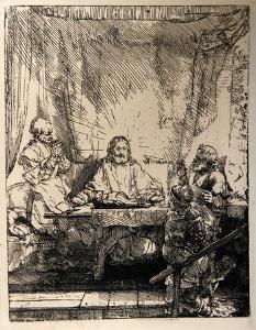 Les Pelerins d'Emmaus (B87) by Amand Durand