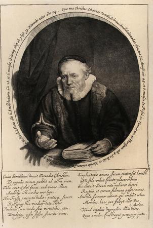 Portrait de Jean Corneille Sylvius (B280)