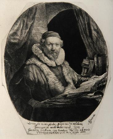 Portrait de Jean Wtenbogardus (B279)