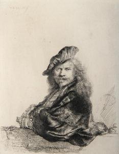 Rembrandt Appuye (B21) by Amand Durand