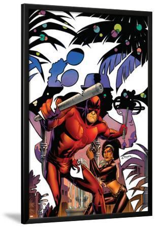 Daredevil: Dark Nights #7 Cover: Daredevil, Misty Knight