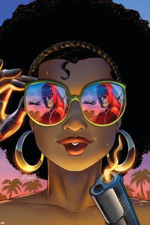 Daredevil: Dark Nights #8 Cover: Misty Knight, Daredevil