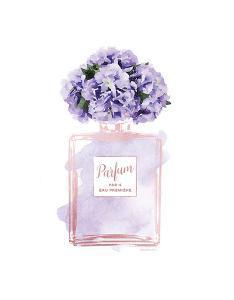 Parfume Violet with Hydrangea by Amanda Greenwood