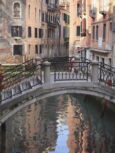 A Quiet Canal, Venice, UNESCO World Heritage Site, Veneto, Italy, Europe by Amanda Hall