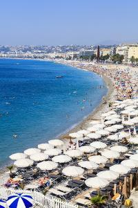 Baie Des Anges and Beach by Amanda Hall