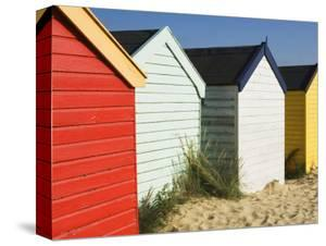 Beach Huts, Southwold, Suffolk, England, United Kingdom, Europe by Amanda Hall
