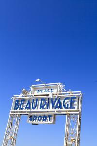 Beau Rivage Beach Sign by Amanda Hall